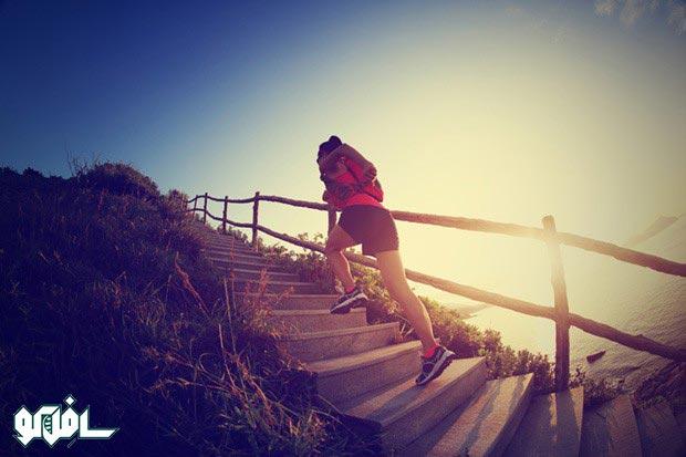 از پله بالا بروید و جوان بمانید