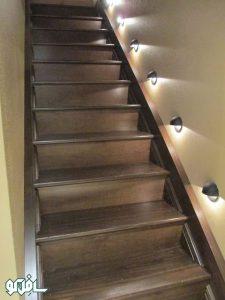 3 2 225x300 نورپردازی دیواری پله