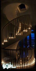 3 3 152x300 نورپردازی بر روی کف پله (نورپردازی دفنی)