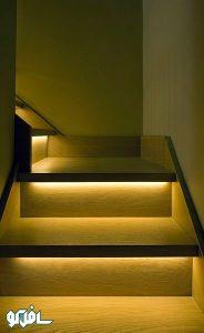 8 184x300 نورپردازی آبچکان پله