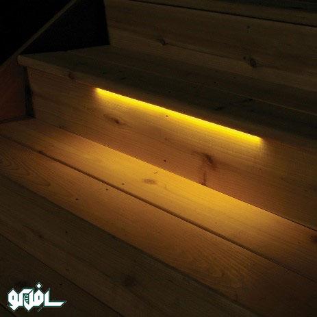 نورپردازی آبچکان پله