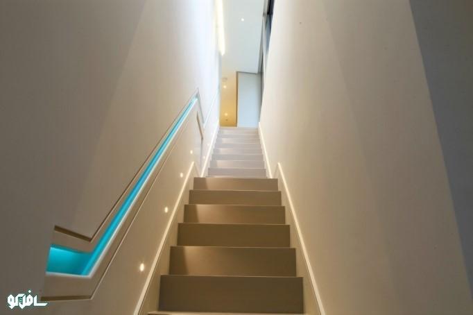 12 1 نورپردازی ترکیبی پله