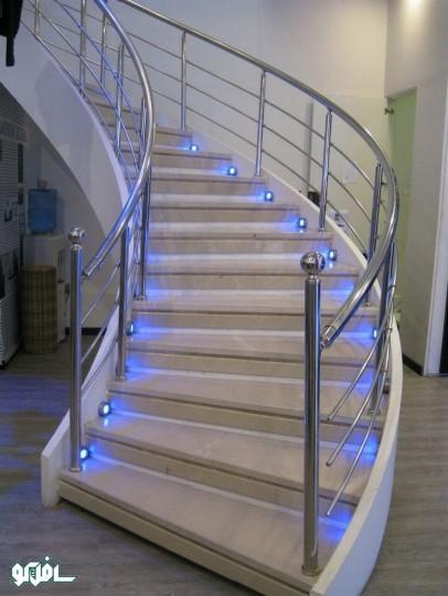 27 نورپردازی ترکیبی پله
