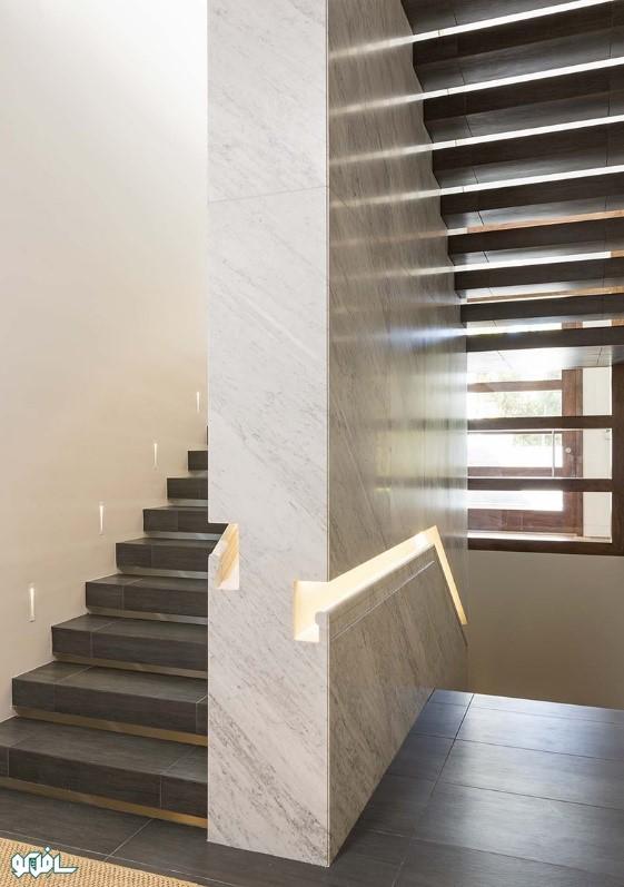 3 1 نورپردازی ترکیبی پله