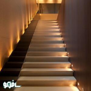 5 1 نورپردازی ترکیبی پله