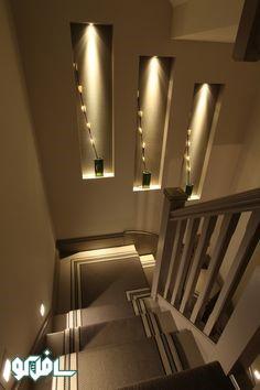 7 1 نورپردازی ترکیبی پله