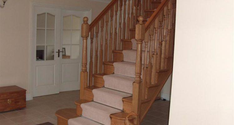 پله های چوبی